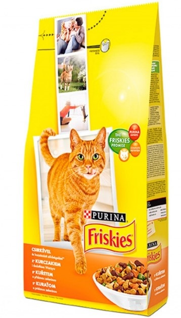 FRISKIES CAT GRAN KURA SO ZELENINOU 10KG