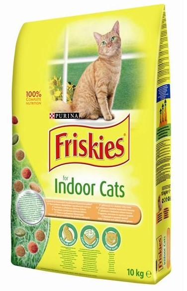 FRISKIES CAT INDOOR GRAN 10KG