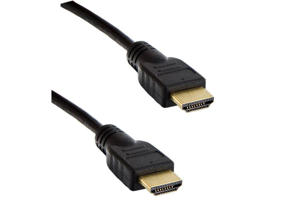 4W KABEL HDMI 1.4 HIGH SPEED, 3 M BLACK