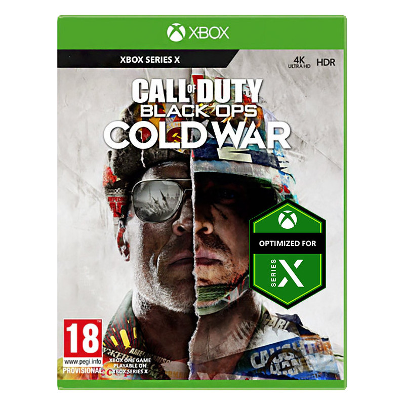 XBOX SERIES CALL OF DUTY: BLACK OPS COLD WAR