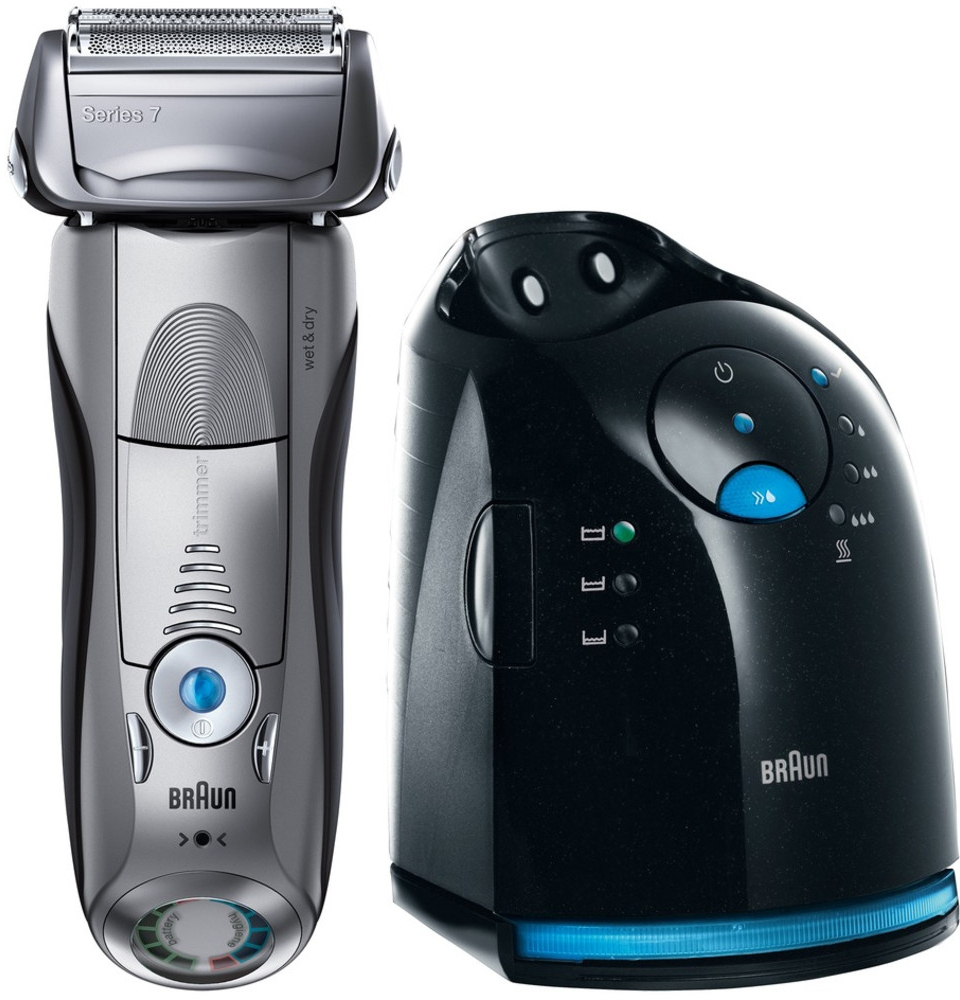 BRAUN SERIES 7-799-7 CLEAN AND CHARGE WET AND DRY