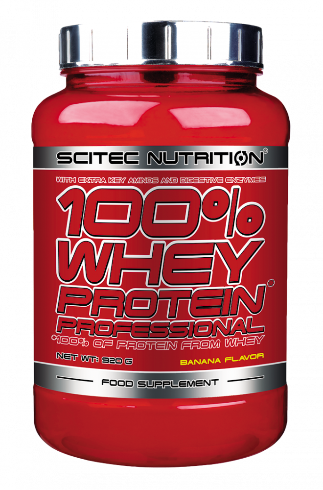 SCITEC 100% WHEY PROTEIN PROFESSIONAL 920G BANAN