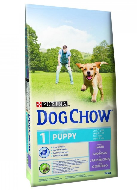 PURINA DOG CHOW PUPPY LAMB 14KG
