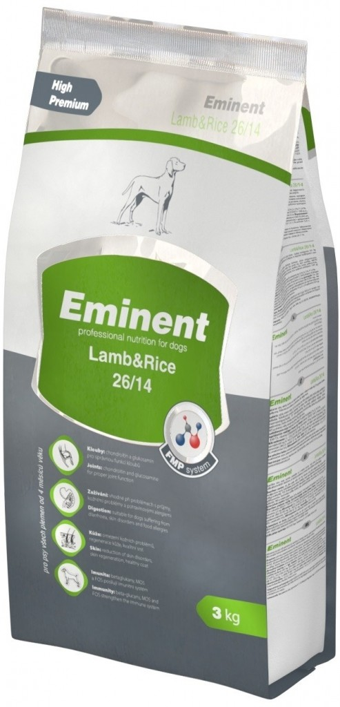 EMINENT DOG LAMB & RICE 3KG