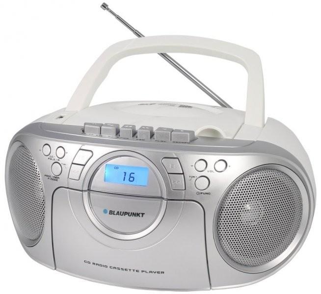BLAUPUNKT BB16WH RADIOMAGNETOFON FM PLL CD/MP3/USB/AUX, KAZETY