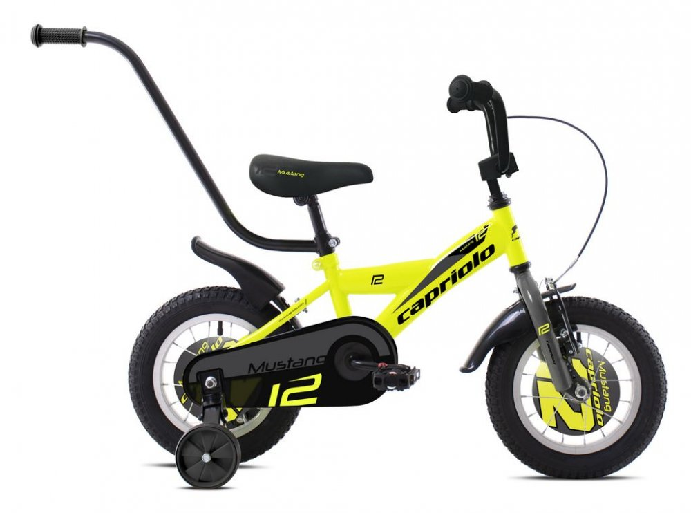 CAPRIOLO BMX 12HT MUSTANG NEONYELLOW BLACK 92010612