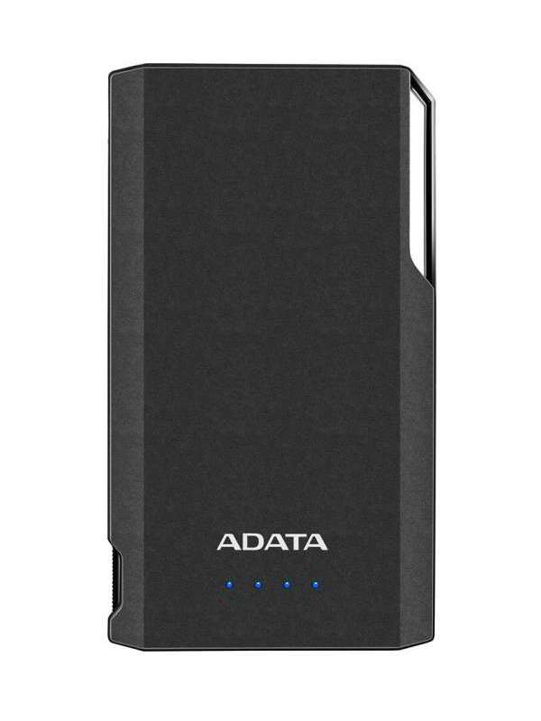 ADATA S10000 POWER BANK, 10000MAH, CIERNA, AS10000-USBA-CBK