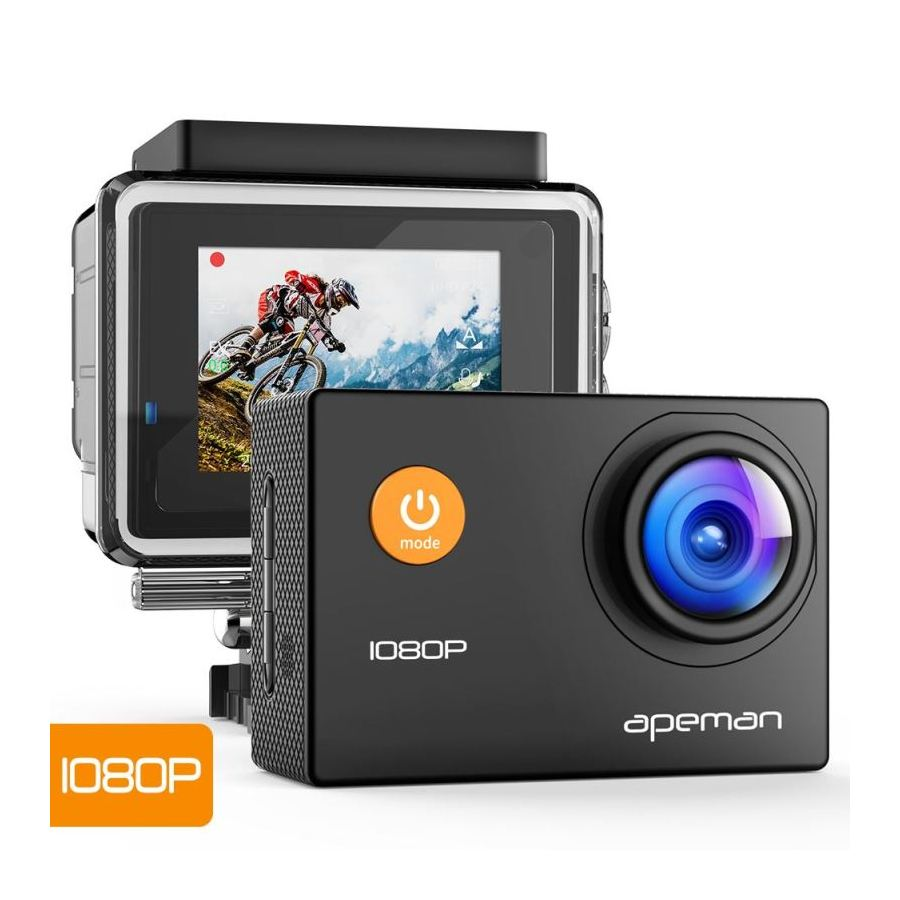 APEMAN A66 ODOLNA DIGITALNA KAMERA, FULL HD 1080P, VODOTESNE PUZDRO DO 30M
