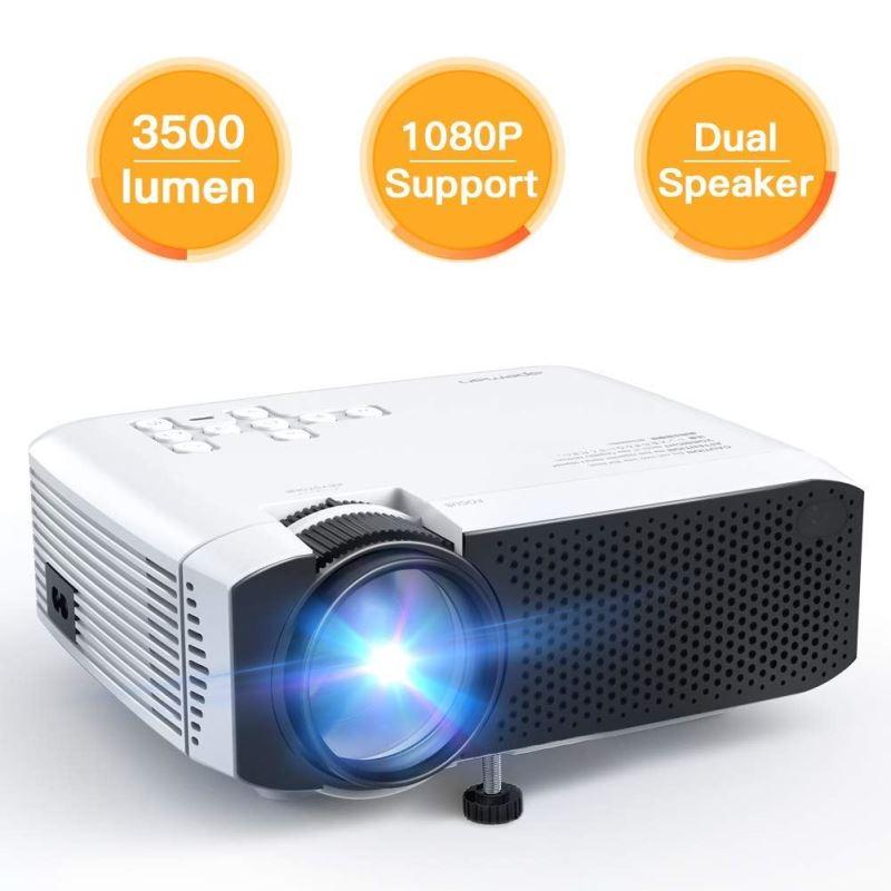 APEMAN PROJEKTOR LC350, 1080P FULL HD, 80 ANSI/3500 CLO LUMENOV, REPRO