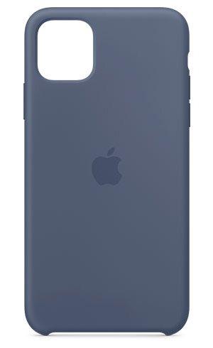 APPLE IPHONE 11 PRO MAX SILICONE CASE - ALASKAN BLUE, MX032ZM/A