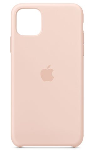 APPLE IPHONE 11 PRO MAX SILICONE CASE - PINK SAND, MWYY2ZM/A