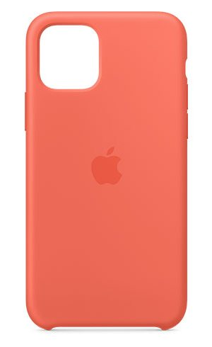APPLE IPHONE 11 PRO SILICONE CASE - CLEMENTINE (ORANGE), MWYQ2ZM/A