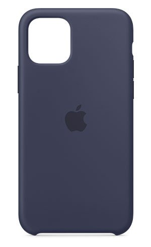 APPLE IPHONE 11 PRO SILICONE CASE - MIDNIGHT BLUE, MWYJ2ZM/A