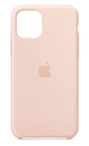 APPLE IPHONE 11 PRO SILICONE CASE - PINK SAND, MWYM2ZM/A