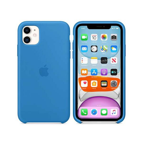 APPLE IPHONE 11 SILLICONE CASE  SURF BLUE MXYY2ZMA