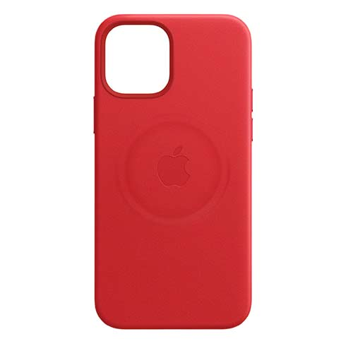 APPLE IPHONE 12 PRO MAX LEATHER CASE WITH MAGSAFE PRODUCT RED, MHKJ3ZM/A