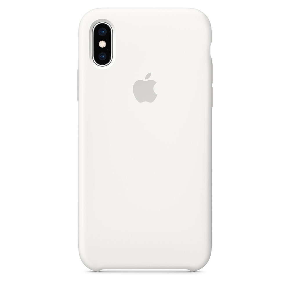APPLE IPHONE XS SILICONE CASE WHITE, MRW82ZM/A