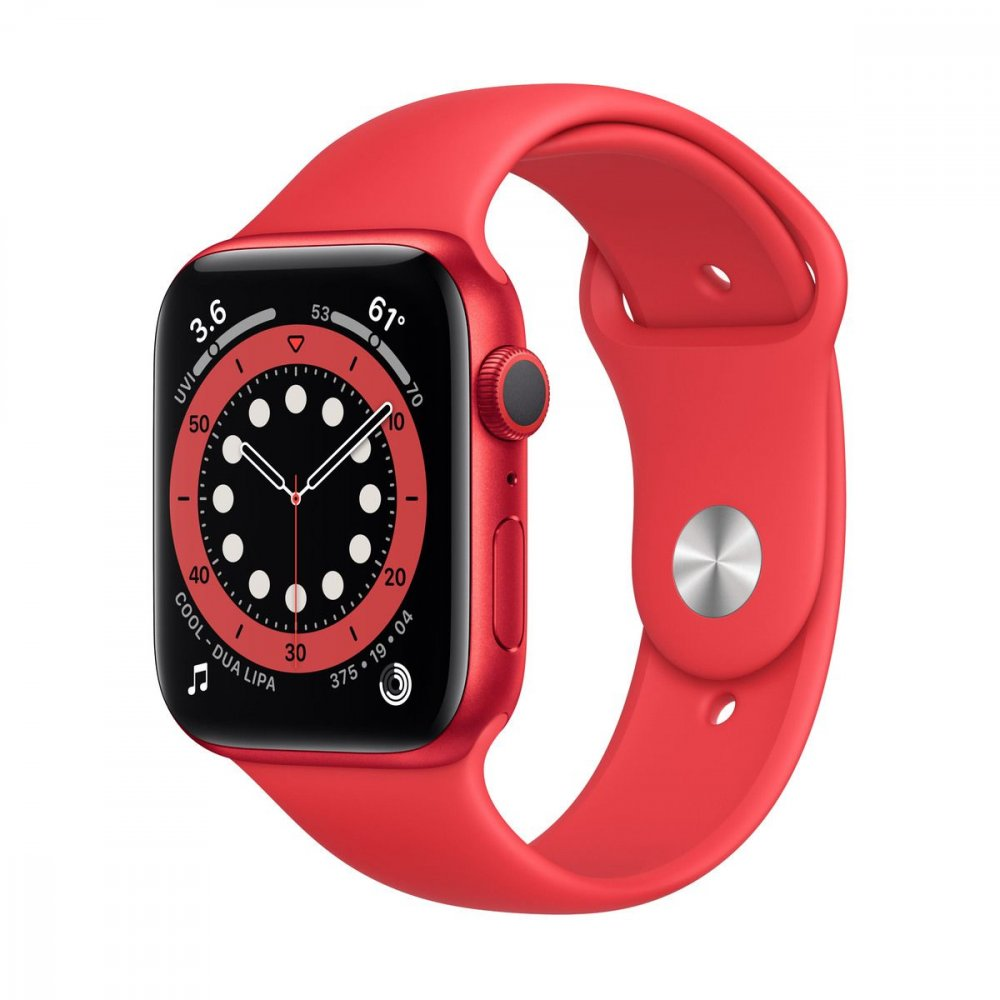 APPLE WATCH SERIES 6 GPS 40MM PRODUCT(RED) ALUMINIUM CASE WITH PRODUCT(RED) SPORT BAND M00A3VRA