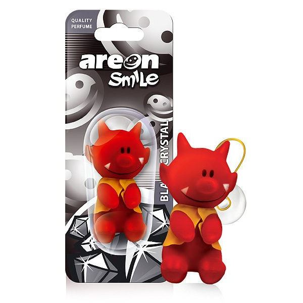 AREON SMILE TOY BLACK CRYSTAL, ASB03