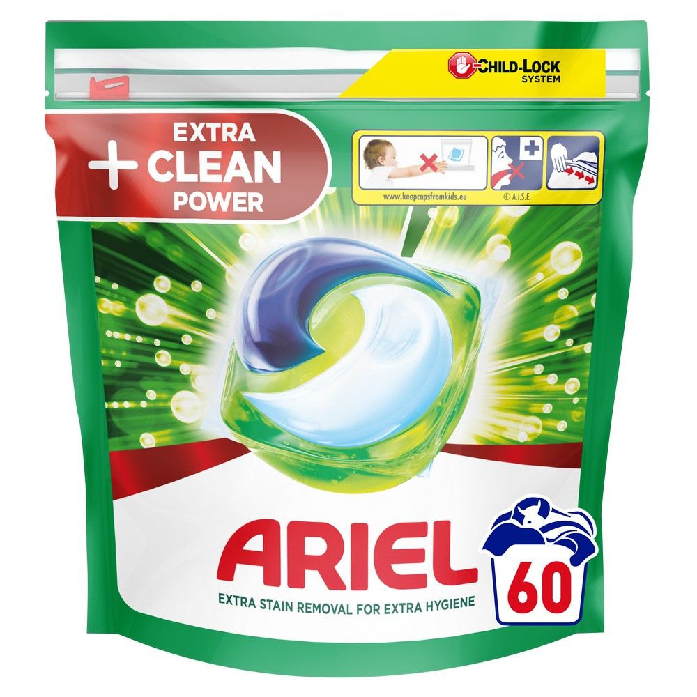 ARIEL ALL IN 1 GELOVE TABLETY COLOR & STYLE 60KS