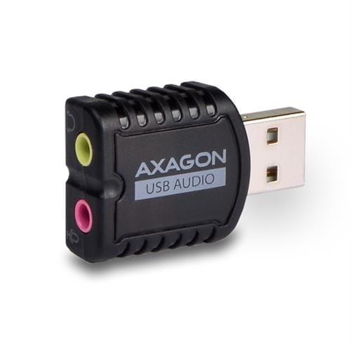 AXAGON USB 2.0 STEREO AUDIO MINI ADAPTER ADA-10