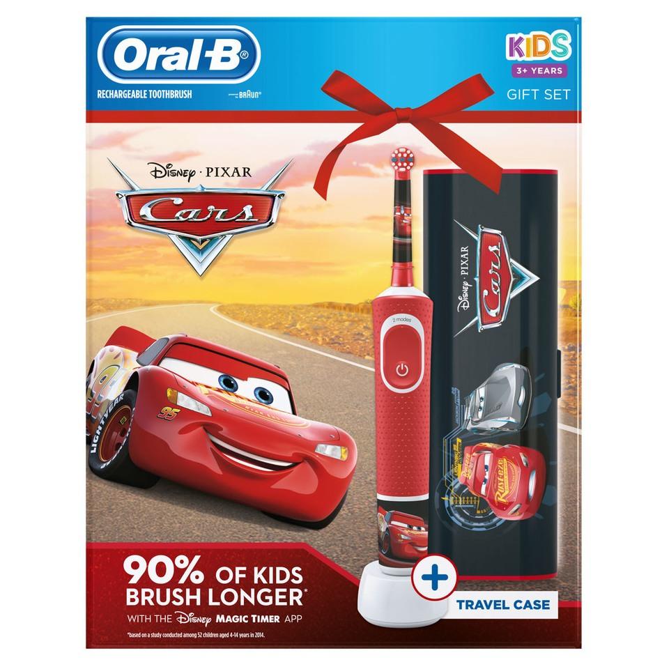 BRAUN ORAL-B VITALITY D100 CARS + CESTOVNE PUZDRO