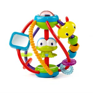BRIGHT STARTS HRACKA ACTIVITY BALL, 6M+