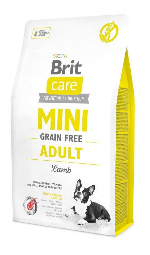 BRIT CARE MINI GRAIN FREE ADULT LAMB 2 KG (294-170770)