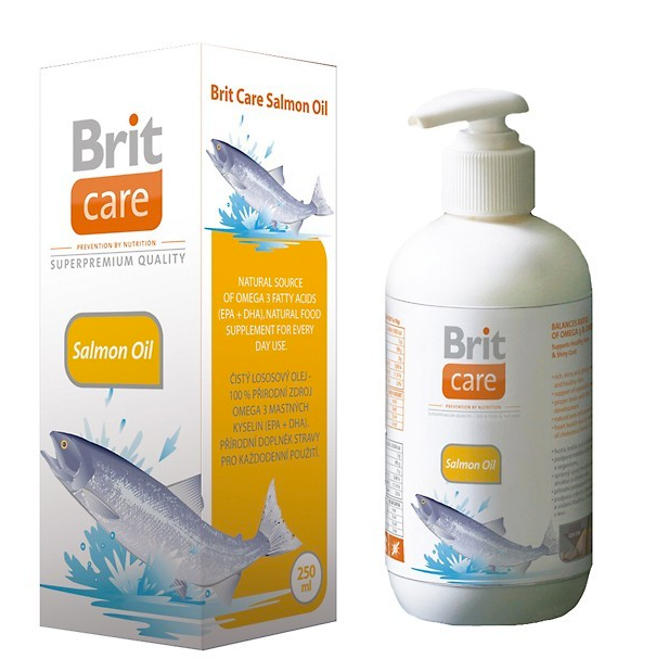 BRIT CARE SALMON OIL 1000 ML (294-101117)