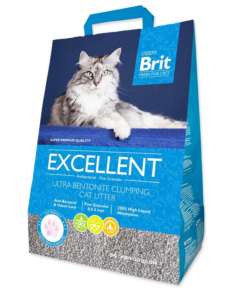 BRIT KOCKOLIT FRESH FOR CATS EXCELLENT ULTRA BENTONITE (10KG)