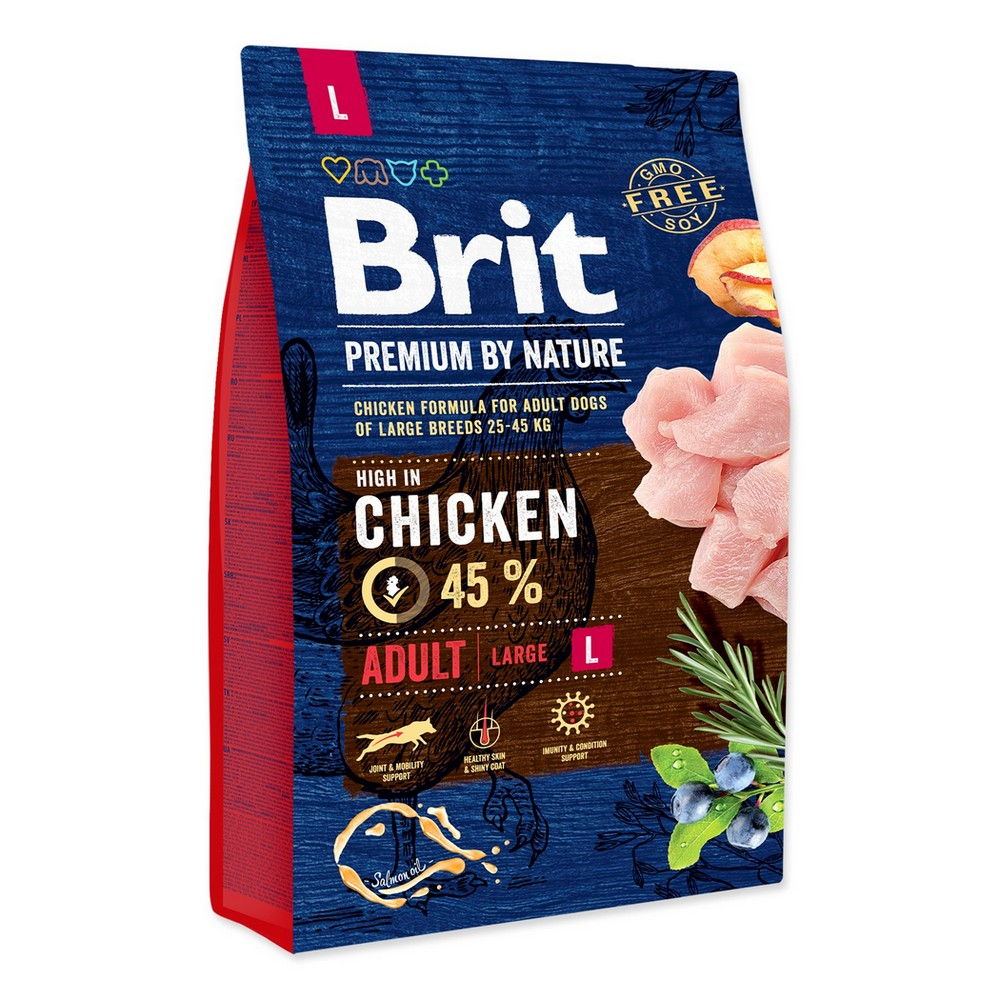 BRIT PREMIUM BY NATURE ADULT L 3 KG (294-170825)