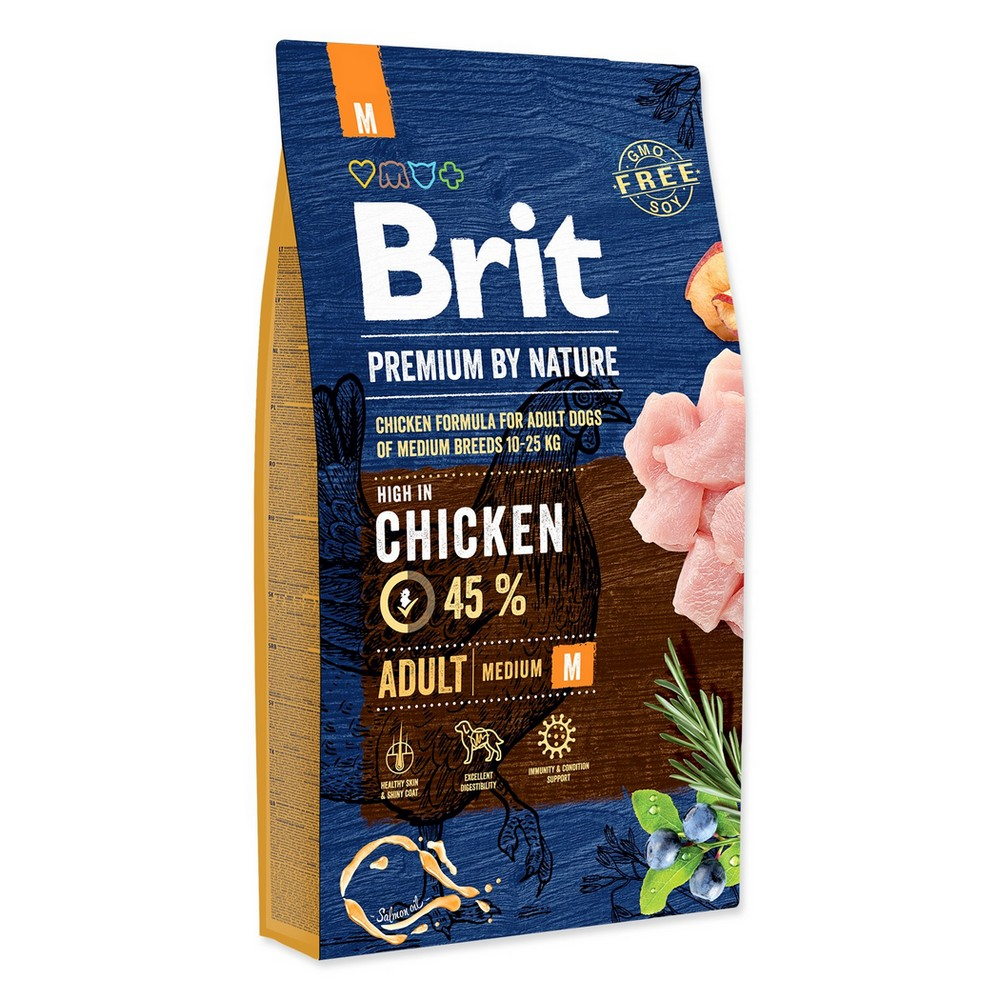 BRIT PREMIUM BY NATURE ADULT M 8 KG (294-170817)