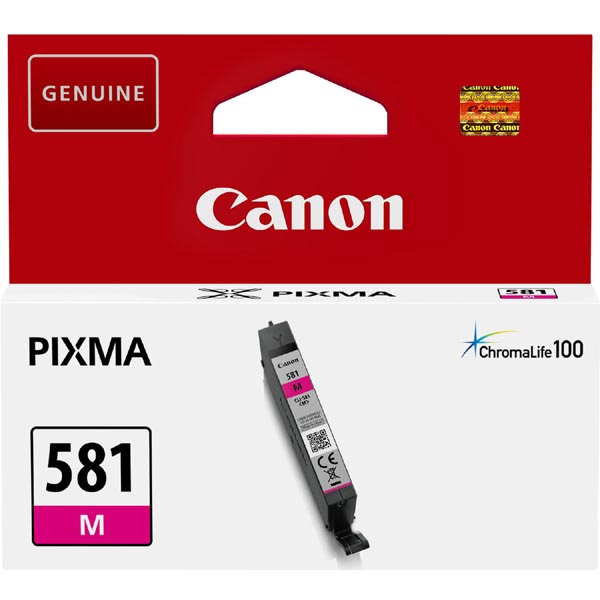 CANON CLI581M ORIGINAL INK, MAGENTA, 5,6ML, 2104C001