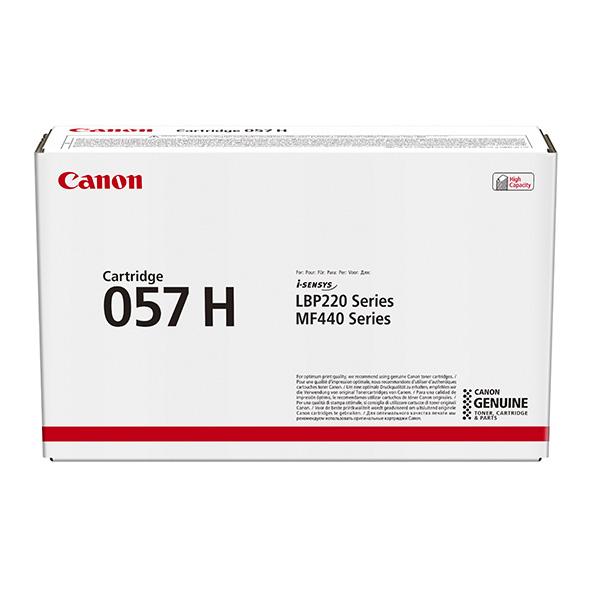CANON ORIGINAL TONER 057H, BLACK, 10000STR., 3010C002, HIGH CAPACITY, CANON LBP228, LBP226, LBP223