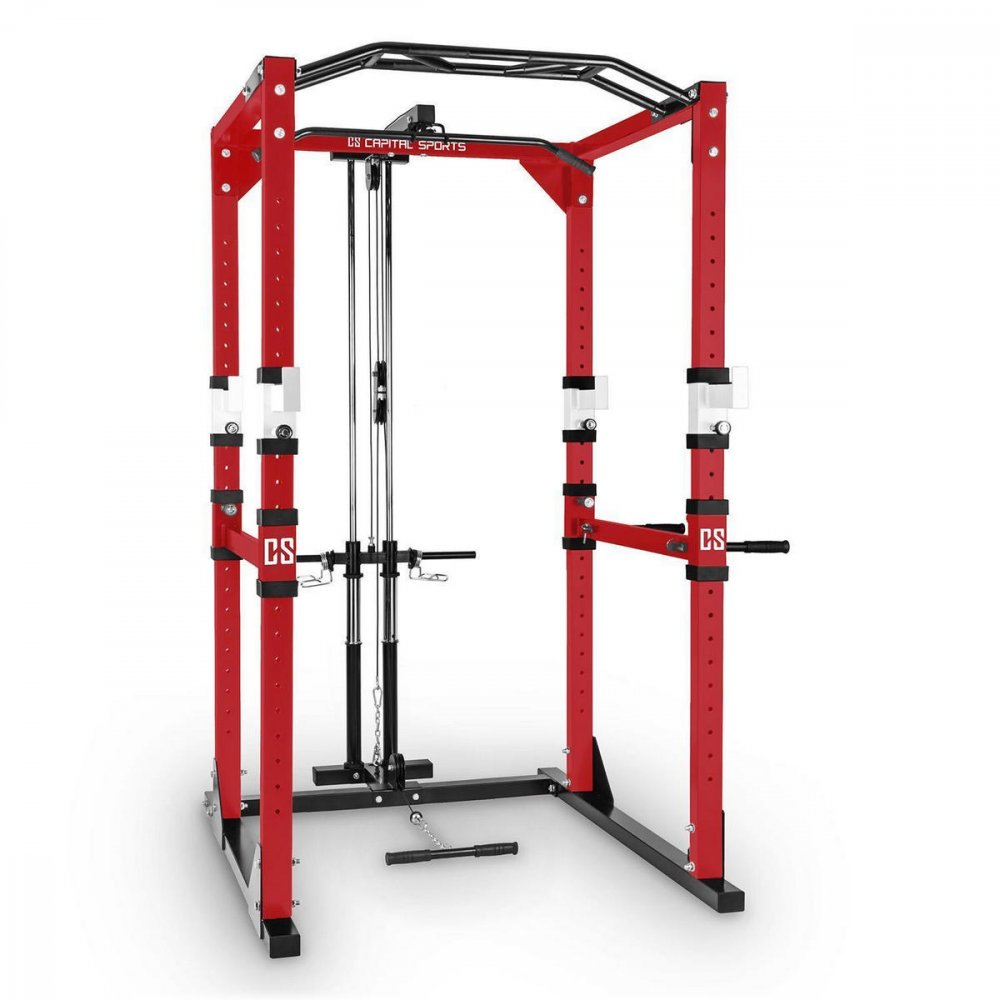 CAPITAL SPORTS TREMENDOUR PL CERVENY POSILNOVACI STOJAN POWER RACK KLADKA OCEL 10029513