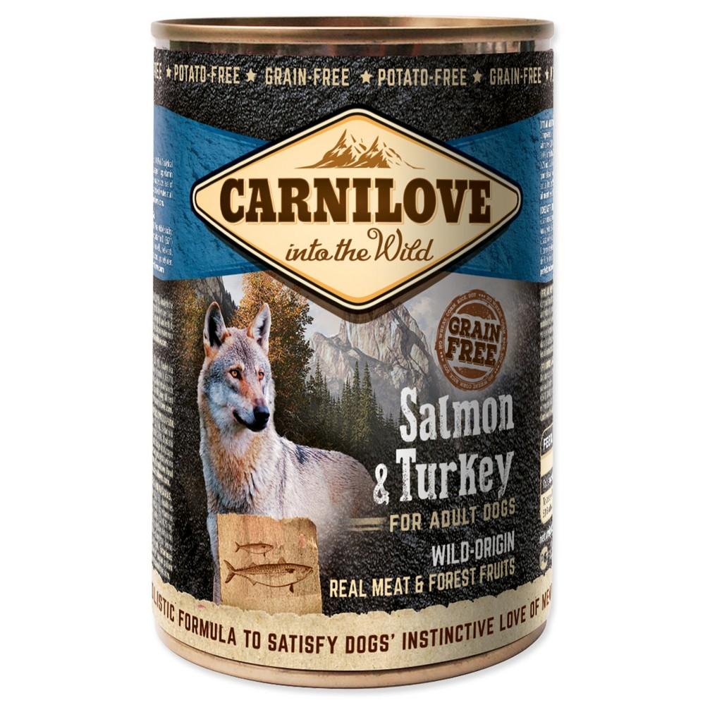 CARNILOVE DOG WILD MEAT SALMON & TURKEY 400G (294-111197)