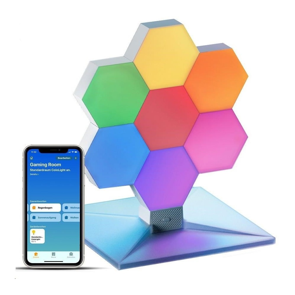 COLOLIGHT PLUS MODULARNE INTELIGENTNE WIFI OSVETLENIE  ZAKLADNA SO 7 BLOKMI  HOMEKIT CL169