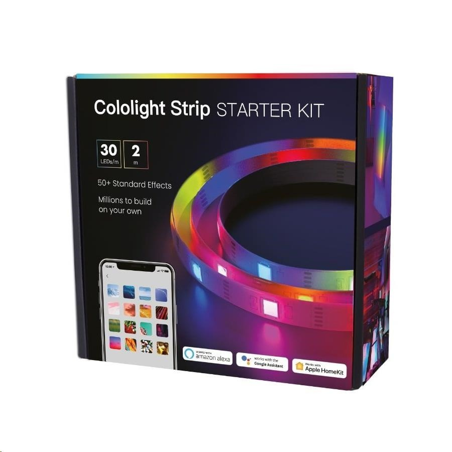COLOLIGHT STRIP STARTER KIT  SMART LED PASIK 30 LEDM 2 M CL167S3