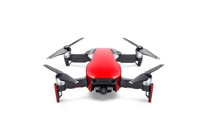 3ecd4c733 DJI KVADROKOPTERA - DRON, MAVIC AIR FLY MORE COMBO, 4K KAMERA, CERVENY