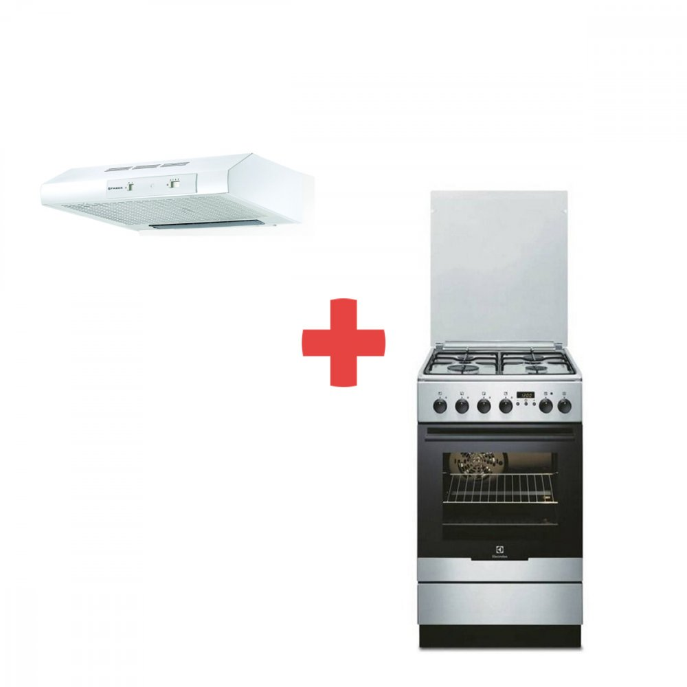 ELECTROLUX EKK 54553 OX + FABER 741 BASE PLUS W A60