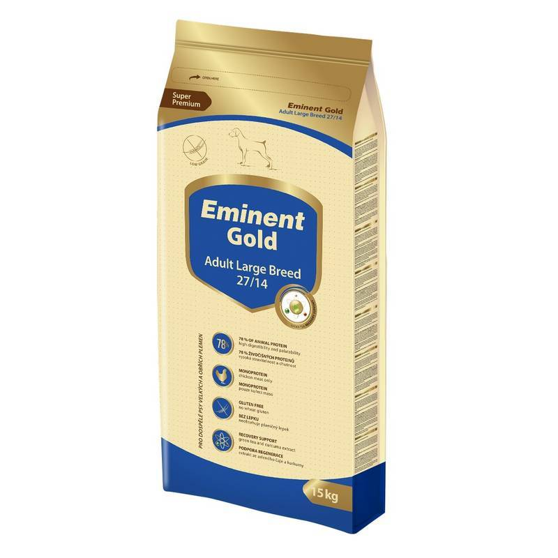 EMINENT DOG GOLD ADULT LARGE BREED 15 KG