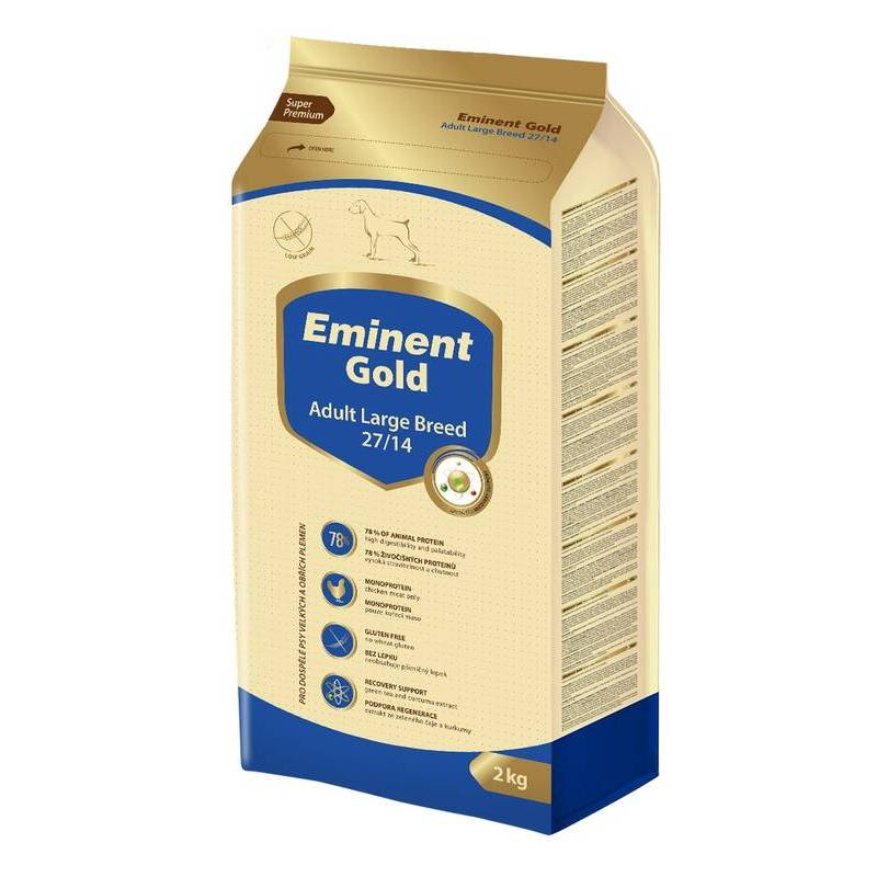 EMINENT DOG GOLD ADULT LARGE BREED 2KG