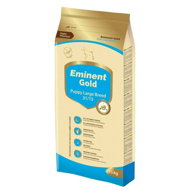 EMINENT DOG GOLD PUPPY LARGE BREED 15 KG