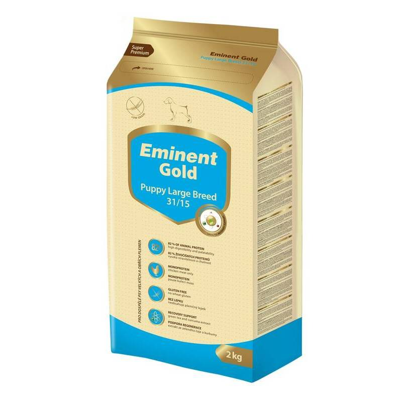 EMINENT DOG GOLD PUPPY LARGE BREED 2KG