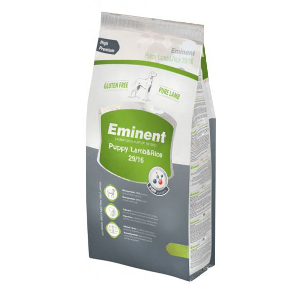 EMINENT PUPPY LAMB & RICE 15KG