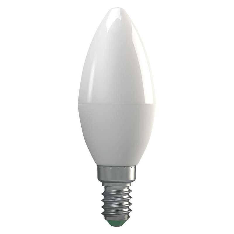 EMOS ZQ3210 LED ZIAROVKA CLASSIC CANDLE 4W E14 TEPLA BIELA