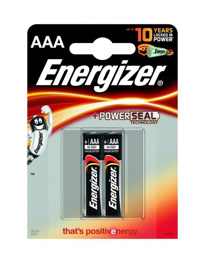 ENERGIZER ALKALINE POWER AAA 2KS, BLISTER, LR03