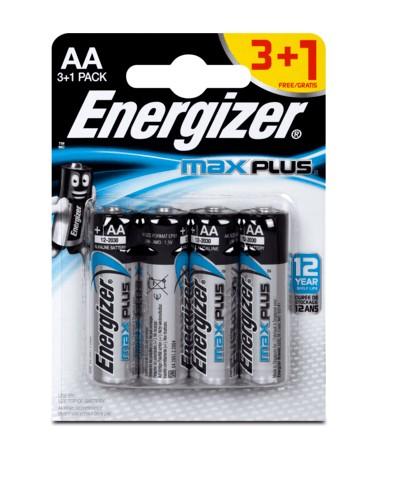 ENERGIZER MAX PLUS AA FSB4 3+1
