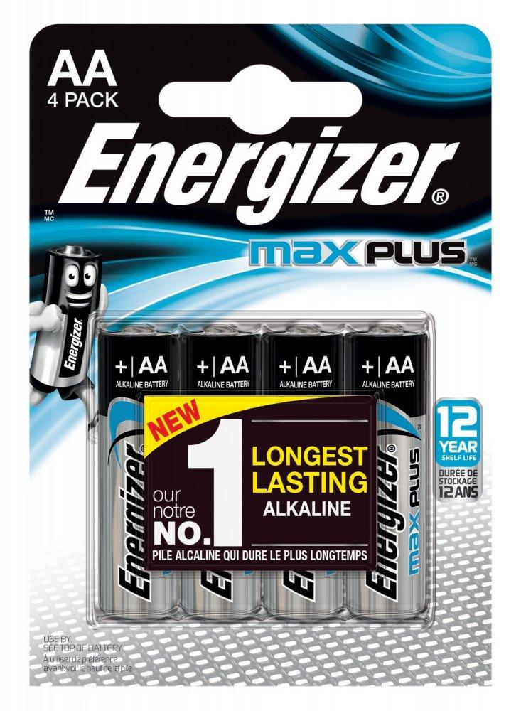 ENERGIZER MAX PLUS LR6 AA, 4KS
