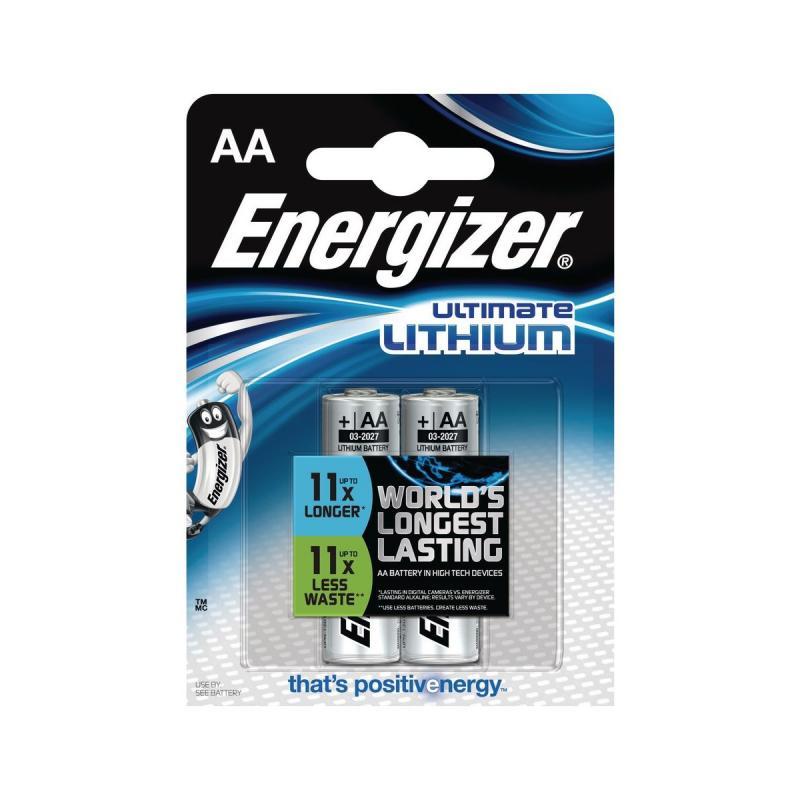 ENERGIZER ULTIMATE POWER LITHIUM AA 2KS, BLISTER, FR6
